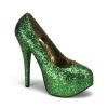 TEEZE_06G Green Glitter